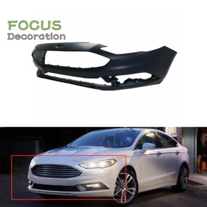 New Primered Front Bumper Cover Replacement For 2017 2018 Ford Fusion 17 18