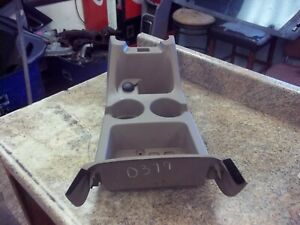 02 03 Ford Explorer Mercury Mountaneer Center Front Console W Cup Holder Oem