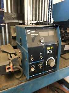 Miller Welder S 64m Wire Feeder 24 Volt 14pin Plug Used Tested Great Condit
