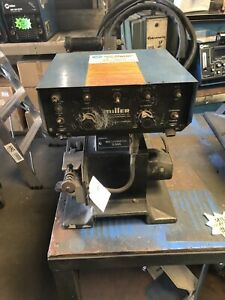Miller Welder S54a Wire Feeder 4 Drive Roll Used Tested Great Condition