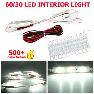 30 Led Cargo Camper Rv Interior Light Trailer Boat Lamp Ceiling For Car Van 12v