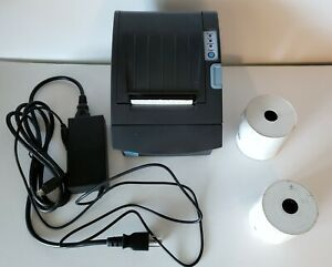 Pos Thermal Receipt Printer Cords And 2 1 2 Rolls Of Receipt Paper Bundle