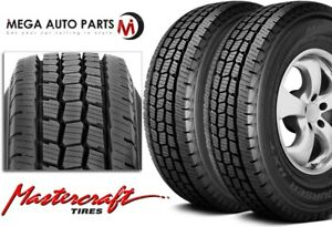 2 Mastercraft Courser Hxt Lt245 75r16 120r E 10 Durable Tires Made In U S A