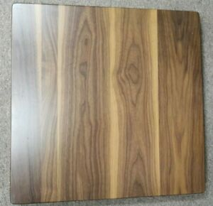 New 24 X 24 Solid Walnut Wood Restaurant Dinning coffee Table Top In 1 3 4