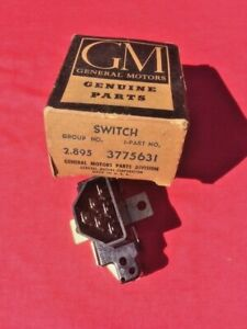1961 1962 1963 Chevrolet Corvair Fc F c Nos Turn Signal Indicator Switch