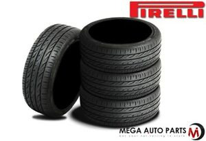 4 Pirelli Pzero Nero Gt 295 25zr20 95y Xl P zero Ultra High Performance Tires