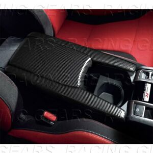 Fit 2016 2020 Honda Civic Carbon Style Armrest Box Center Console Pattern Covers