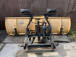Fisher Minute Mount 2 Snow Plow