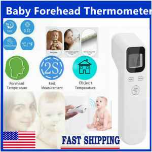 Body Infrared Forehead Thermometer Digital Lcd Non contact Adult Temperature Usa