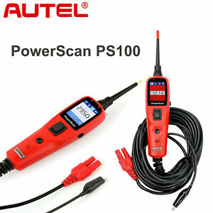 Us Autel Powerscan Ps100 Electrical System Circuit Tester 12v 24v Diagnosis Tool