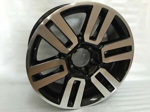 20 Limited Style Alloy Wheels Rims Fits Toyota 4runner 2010 19 Black Machined N