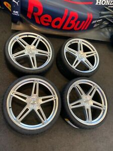 22 Mercedes Benz Bmw Wheelscec C881 Light Alloy Wheels W Pirelli Pzero Tires