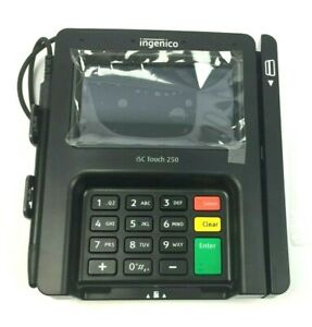 Ingenico Isc Touch 250 Pos Credit Card Terminal With Stylus Ing isc250 usscn40f