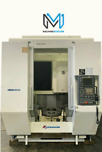 Kitamura Mytrunnion 5 Axis Cnc Vertical Machining Center 20 000 Rpm Mill Dmg