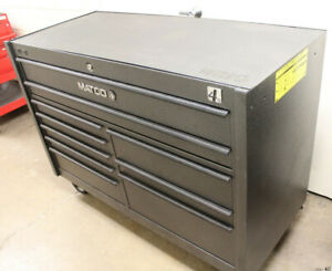 Matco 4s Double Bay 25 Toolbox Like New 4225rp Ss With Power Drawer