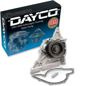 Dayco Water Pump For Volkswagen Touareg 2004 2006 4 2l V8 Engine Tune Up Eb
