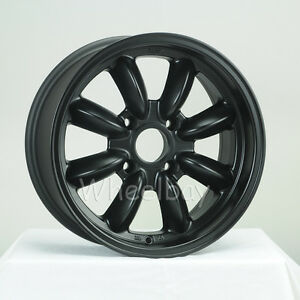 4 Rota Wheel Rb 15x7 4x114 3 20 Flat Blk Big Caps Mgb 510 Roadster Last Set