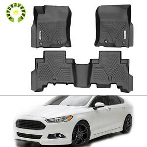 All Weather Floor Mats Liners For 2013 2021 Toyota 4runner 1st 2nd Row Black