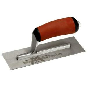 Marshalltown 4 1 2 In X 11 In High Carbon Steel Finishing Trowel With Curved