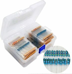 Resistor Assortment Kit Metal Film Resistor Resistance For Diy Electric Projects