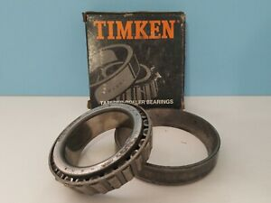 Timken 33287 Tapered Roller Bearing Cone W 33462 Cup In Box