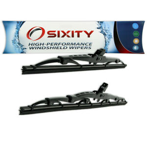 Front Windshield Wiper Blades For Honda S2000 Oem Upgrade Kit Set Cj