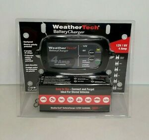 Weathertech Battery Charger Portable Intelligent 12v 6v Rv Auto Marine Charger