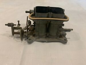 1969 440 6 Center Carb Carburetor Mopar Six Pack Holley 2 Bbl Barrel