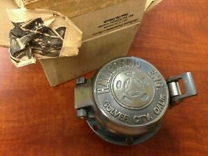 Halibrand Engineering Gas Fuel Cap Wheels Logo Scta 1932 Ford Flathead Cobra