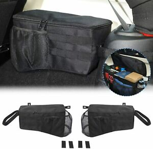 Storage Bag Cage With Multi pockets Organizers For Jeep Wrangler Jk 07 17 4 Door