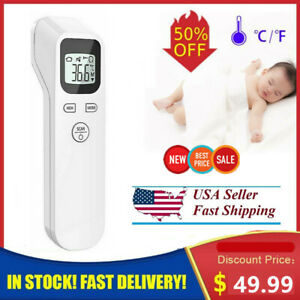 Infrared Forehead Thermometer Digital Lcd Non contact Temperature Gun For Adults