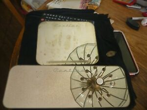 2 Piece Vintage Pontiac Sun Visor Clip On Mirror Set