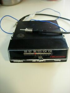 Vintage Spark O Matic Fm 10 Converter Converts Am Radio To Fm Tested