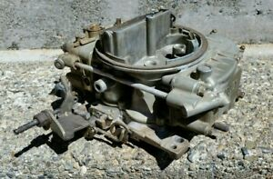 Holley Carburetor 650 Cfm List 7855 Thermoquad Quadrajet Used In Nice Shape