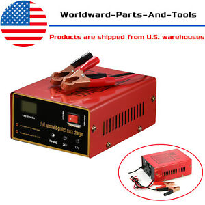 Maintenance Free Battery Charger 12v 24v 10a 140w Output For Electric Car Usa