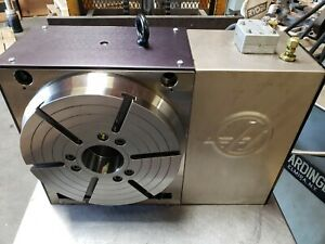 Haas Hrt310 4th Axis Rotary Table Sigma 5 Mfg 2017 Video