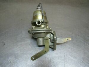 Fuel Pump With Primer Handle Nos Fits Willys Mb Gpw Jeep s4