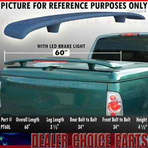 Hyperwings Pickup Truck Spoiler Wing For Hard Tonneau Cover Universal 60 W led