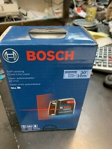 Bosch Gll 30 Self Leveling Cross line Laser