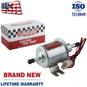 Bravex Electric Fuel Pump Hep 02a 4 7 Psi 12v Gas Diesel Inline Car Truck Boat