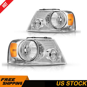 For 2007 2013 Chevrolet Silverado Head Light Torchbeam Headlight Assembly Pair