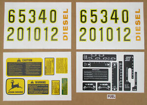 Decal Set For John Deere Decals Jd 2510 2520 3010 3020 4000 4010 4020 4320 4520