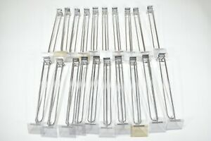 Lot Of 20 12 Slat Wall Panel Wide Loop Hooks For Retail Store With Price Holder