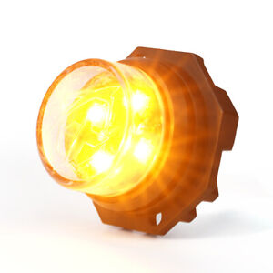 Xprite Hide a way Amber Led Strobe Light Head Bulb Replacement Part Emergency