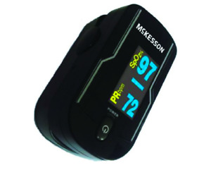Fingertip Pulse Oximeter Pediatric To Adult Mckesson 16 93651 New Free Shipping