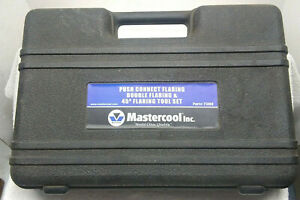 Mastercool 71300 Hydraulic Push Connect Double Flaring 45 Degree Bubble Tool Set