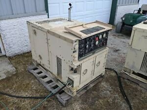 Mep 802a Military Diesel Generator 5kw 1 3 Phase Load Tested Onan