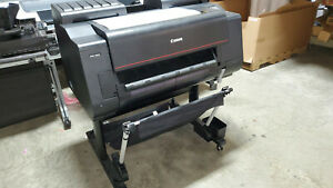 Canon Imageprograf Pro 2000 24 Wide Format Printer Poster photo Used