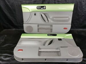 1998 2010 Vw Beetle Green Gray Door Panels L R