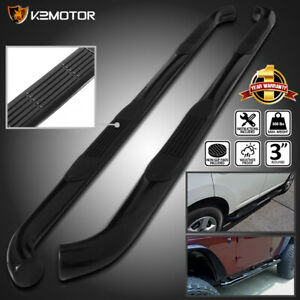 For 2005 2020 Toyota Tacoma 3 Double Cab S S Side Step Nerf Bars Running Boards